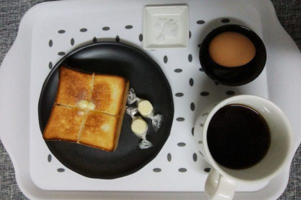 朝食はじめました!